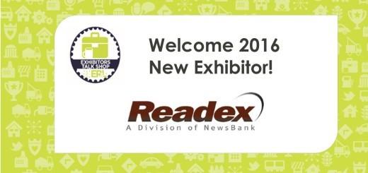 New Exhibitor - Readex