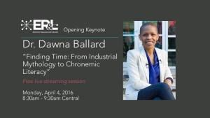 ER&L 2016 Keynote Ballard