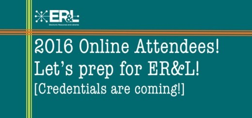 ERL 2016 Online Confernece 11 days out