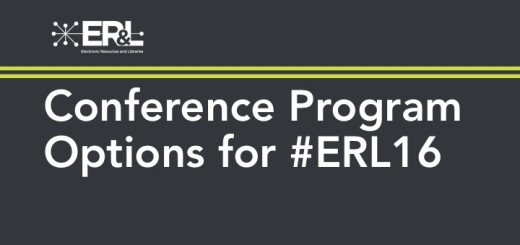ERL 2016 Program Options