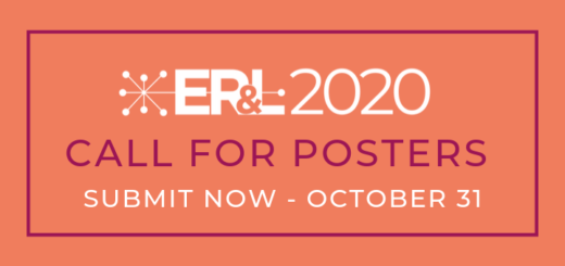 2020 ER&L Call for Posters Open October 1-31