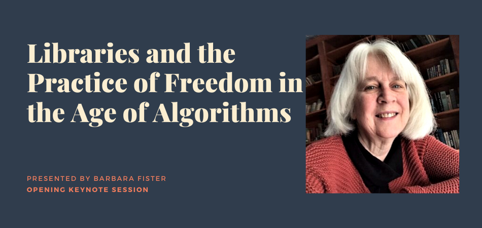 ER&L 2020 Keynote Libraries and the Practice of Freedom in the Age of Algorithms